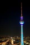 A torre da televisão em Berlim, Foto de Stock Royalty Free