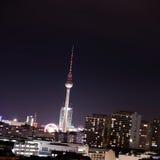 Berlim em a noite Imagem de Stock Royalty Free