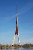Torre da televisão em Riga Fotos de Stock