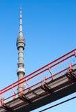 Torre da tevê Imagem de Stock Royalty Free