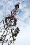 Torre da tevê Foto de Stock