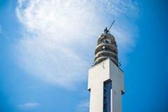 Torre da tevê fotografia de stock
