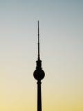 Torre da tevê - Berlim, Alemanha Fotos de Stock