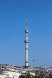 Torre da tevê de Almaty Imagens de Stock