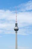 Torre da tevê de Berlim. foto de stock