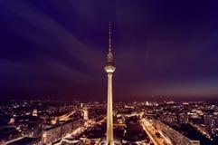 Torre da tevê de Berlim Fotografia de Stock