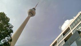 Torre da tevê de Berlim Fotos de Stock Royalty Free