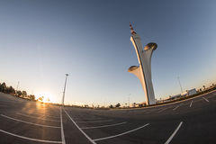 Torre da tevê de Brasília Digital - Sobradinho/DF Imagem de Stock