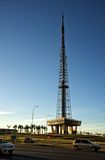 Torre da tevê de Brasilia's em Brasil Imagens de Stock Royalty Free