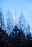 Torre da tevê de Vilnius Fotos de Stock Royalty Free