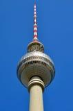 Torre da tevê em Berlim Fotografia de Stock