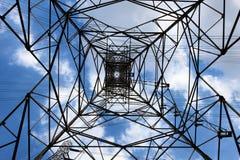 Torre da transmissão de C.A. Fotografia de Stock