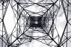 Torre da transmissão de C.A. Fotos de Stock Royalty Free