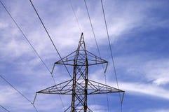 Torre da transmissão de potência Fotos de Stock Royalty Free