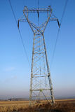 Torre da transmissão de potência foto de stock royalty free