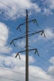 Torre da transmissão de Powertransmission Imagens de Stock