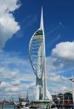 Torre da vela de fortuna, Portsmouth Imagens de Stock Royalty Free