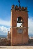 A torre da vela em Alhambra imagens de stock royalty free
