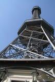 Torre da vigia de Petrin - Praga foto de stock royalty free