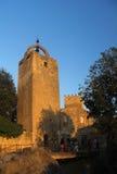 Torre da vila medieval de Peratallada, Baix Emporda, Girona, Espanha Imagem de Stock