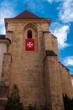Torre da Virgem Maria da igreja Imagens de Stock