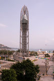 A torre da visão na Dinamarca Mei Sha Seaside Park foto de stock