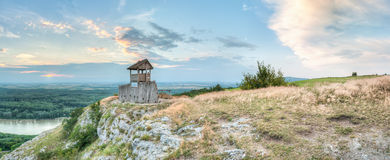 Torre da vista no monte imagem de stock royalty free