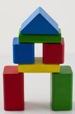 Torre dai mattoni di legno Fotografie Stock