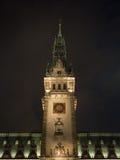 Torre dal municipio a Amburgo Immagine Stock Libera da Diritti