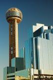 Torre Dallas de la reunión Fotos de archivo libres de regalías