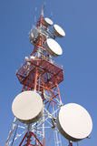 Torre das comunicações 01 fotos de stock