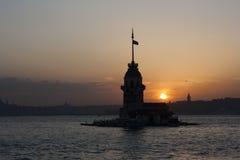 A torre das donzelas Foto de Stock
