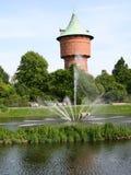 Torre das reservas de água Imagens de Stock Royalty Free