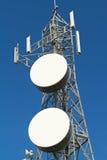 Torre das telecomunicações Imagens de Stock Royalty Free