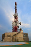 Torre das telecomunicações Foto de Stock