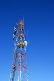 Torre das telecomunicações Fotografia de Stock