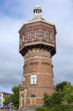 Torre de água antiga em Vlissingen ou no nivelamento Fotografia de Stock
