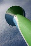 Torre de água com as antenas da rede do telemóvel Fotos de Stock