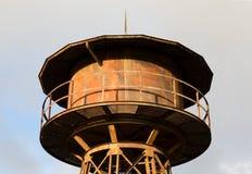 Torre de água da estrada de ferro imagens de stock royalty free