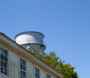 Torre de água da ilha de Alcatraz Foto de Stock