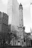 Torre de água de Chicago Fotos de Stock Royalty Free