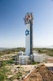 Torre de água de Neve Daniel, Cisjordânia, Israel Imagens de Stock Royalty Free