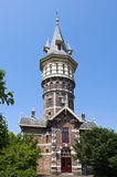 Torre de água holandesa antiga em Schoonhoven Fotos de Stock Royalty Free