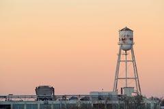Torre de água municipal velha Foto de Stock Royalty Free