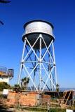 Torre de água na penitenciária federal da ilha de Alcatraz Imagem de Stock