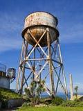 Torre de água oxidada Fotos de Stock Royalty Free
