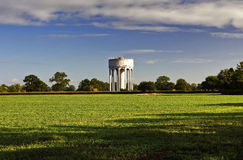 A torre de água velha Imagem de Stock Royalty Free
