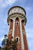 Torre de água velha em Barcelona Imagens de Stock Royalty Free