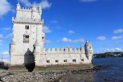 Torre de Βηθλεέμ, Πορτογαλία Στοκ εικόνες με δικαίωμα ελεύθερης χρήσης