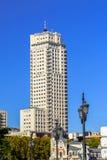 Torre de Μαδρίτη στη πρωτεύουσα της Ισπανίας Στοκ Εικόνες